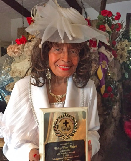 Mrs. Bettye Faye Nichols