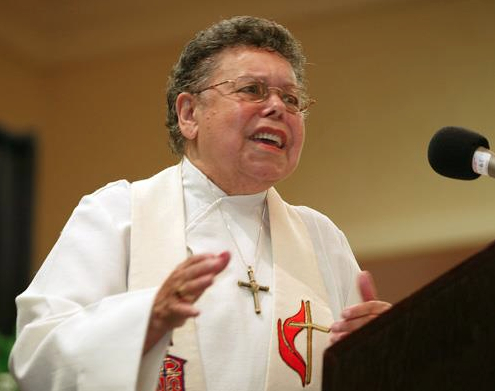 Bishop Leontine Kelly (photo by Michael DuBose/UMC.org)