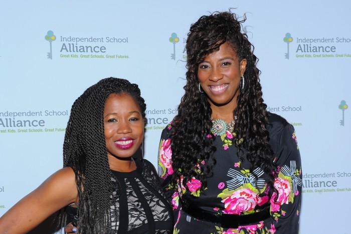 ISA Executive Director Keishia Gu and emcee Shondrella Avery (courtesy photo)