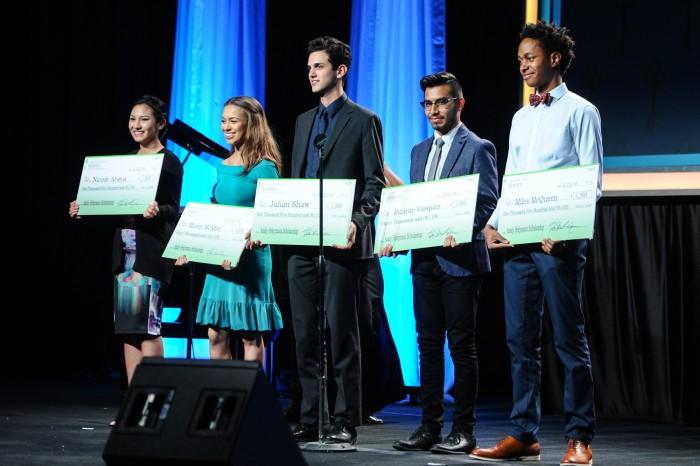 Independent School Alliance Scholarship winners (courtesy photo)