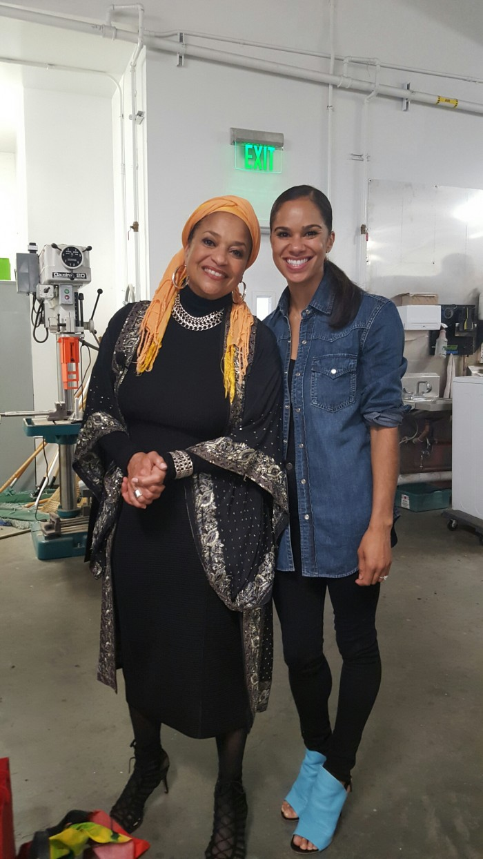 Misty Copeland and Debbie Allen come together to have a insightful discussion with ballet students. (courtesy photo)