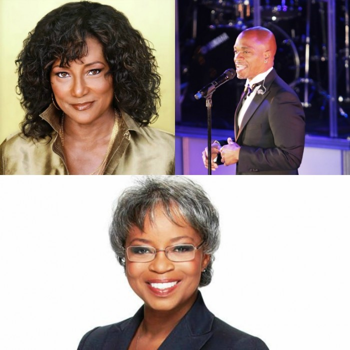 "The evening will include performances by legendary recording artist Eloise Laws (Upper Left) and R&B singer Jesse Campbell (Upper Right), best known for serving as a contestant on Season 2 of ""The Voice"" on NBC. Returning as mistress of ceremonies is NBC4 veteran general assignment reporter Toni Guinyard (Bottom). Graphic By Brian W. Carter"