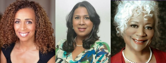 (Left-to-Right): Dominique DiPrima, Jackie B. Majors and D'Ann Morris