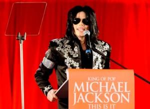 Michael Jackson announces (AP Photo/Joel Ryan, File)