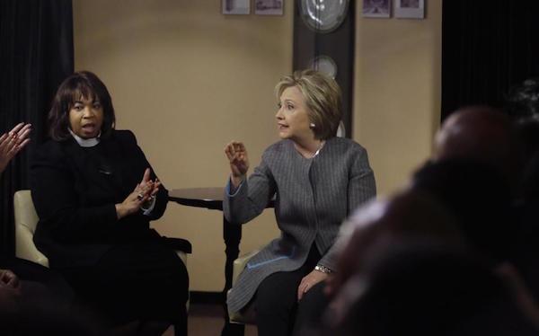Hillary Clinton, Corletta Vaughn