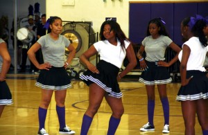 Cheer groups giving an energized performance. Courtesy Photos
