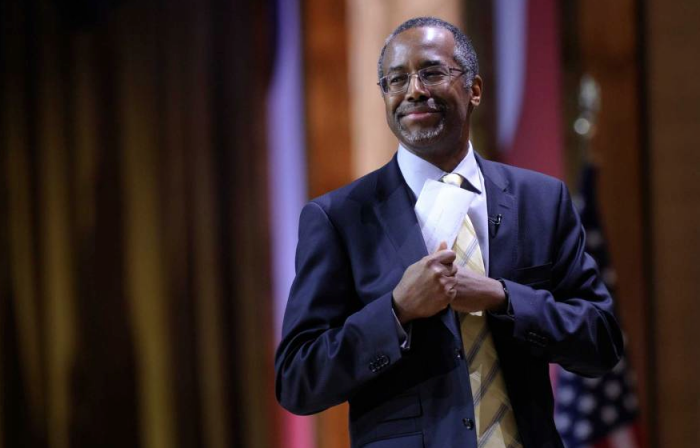 Ben Carson at the Conservative Political Action Committee annual conference on March 8, 2014 (Susan Walsh—AP)