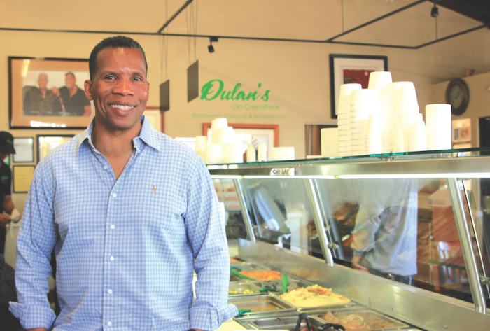 It's been 25 years since Greg Dulan established the popular soul food eatery Dulan's which now boasts three locations in the L.A. area.