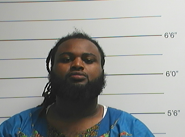 This Sunday, April 10, 2016 photo provided by the Orleans Parish Sheriff's Office shows Cardell Hayes. Police say Hayes has been charged with second-degree murder in the death of former New Orleans Saints defensive end Will Smith, who was shot and killed Saturday night. (Orleans Parish Sheriff's Office via AP)
