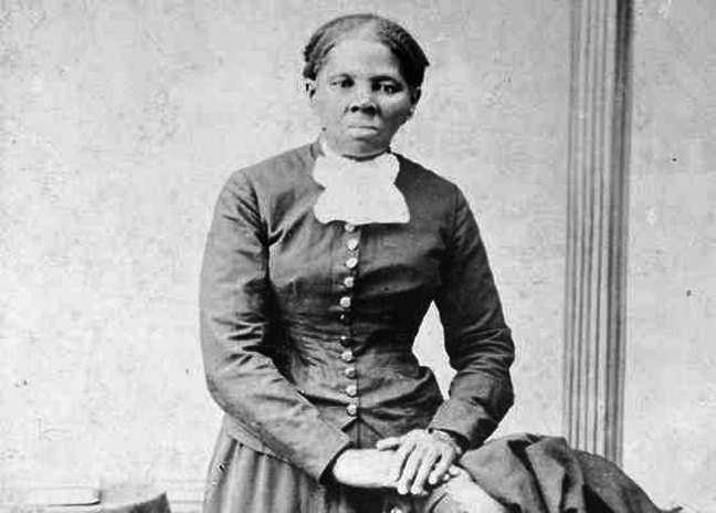 This image provided by the Library of Congress shows Harriet Tubman, between 1860 and 1875. A Treasury official said Wednesday, April 20, 2016, that Secretary Jacob Lew has decided to put Tubman on the $20 bill, making her the first woman on U.S. paper currency in 100 years. (H.B. Lindsley/Library of Congress via AP)