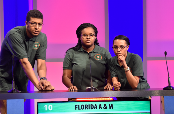 Students from Florida A&M University compete to win Honda's Campus All Star Challenge. (Courtesy photo)