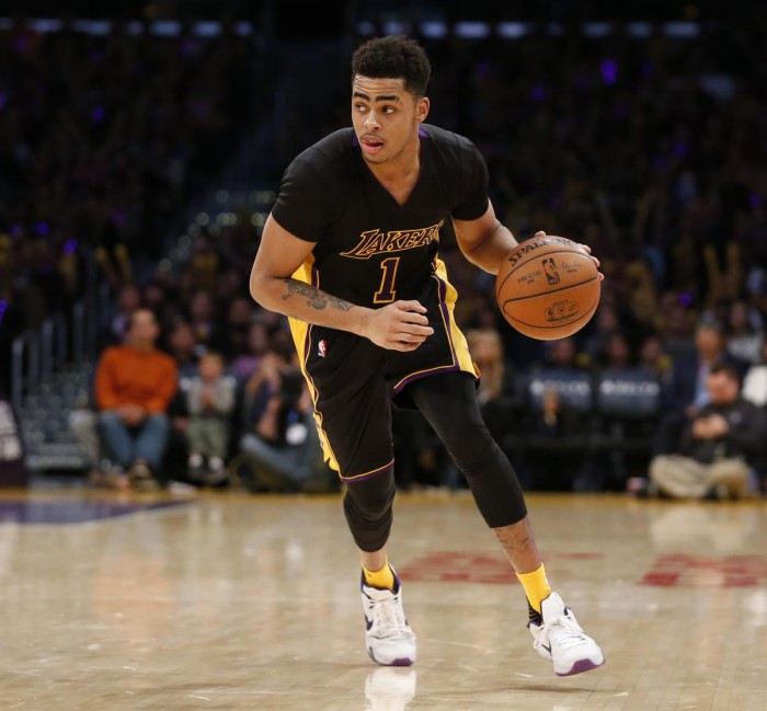 "Here is how Kobe Bryant's teammate D'Angelo Russell had to praise who had been a superstar for 20-years, ""The whole atmosphere—you could tell it was something that Laker Nation fans were used to and you can feel that anything less is unacceptable."""