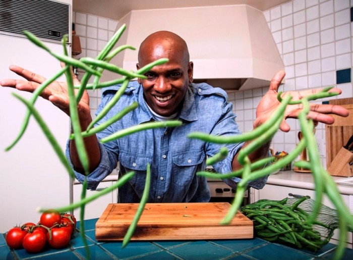 Chef Bryce believes that the best way to fight health disparities is by reaching the youth. Courtesy Photo