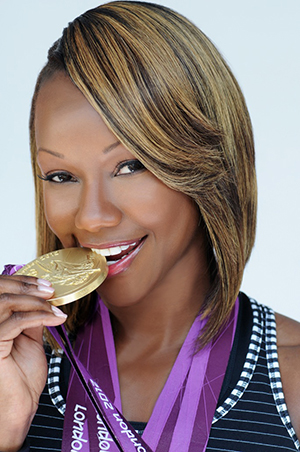 Carmelita Jeter (Courtesy Coleman Entertainment Group)
