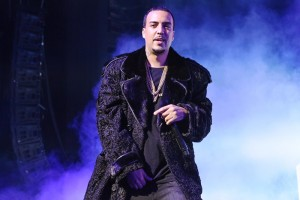 """In this Feb. 12, 2015 file photo, rapper French Montana performs at HOT 97's """"The Tip Off"""" at Madison Square Garden, in New York. (Photo by Scott Roth/Invision/AP, File)"""
