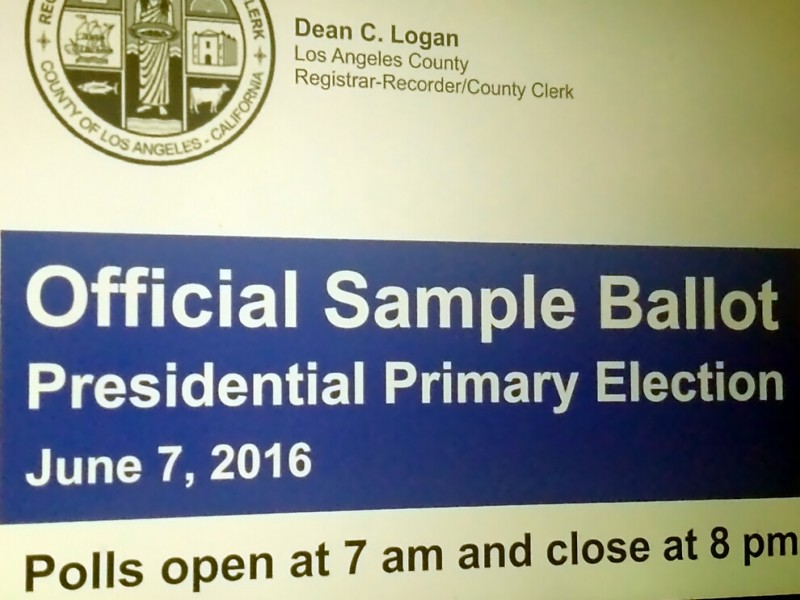 Registered Voters to Begin Receiving Sample Ballots - Los Angeles ...