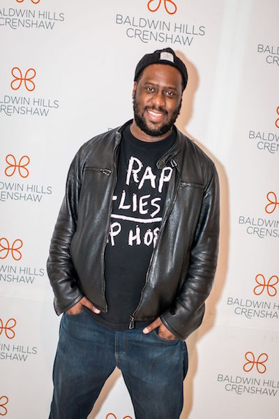 GRAMMY-winning jazz pianist Robert Glasper at the tribute to Miles Davis at Baldwin Hills Crenshaw. The celebration honored internationally renowned music icon Miles Davis in recognition of what would have been his 90th birthday on May 26. (Photo by DVR Productions)