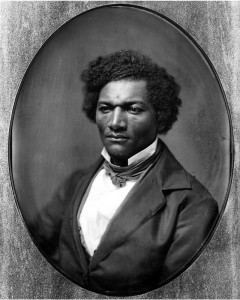 Frederick Douglass, from a full-plate daguerreotype in the collection of the Onondaga Historical Association. It is the only known full-plate daguerreotype of the famed abolitionist. Courtesy of Onondaga Historical Association