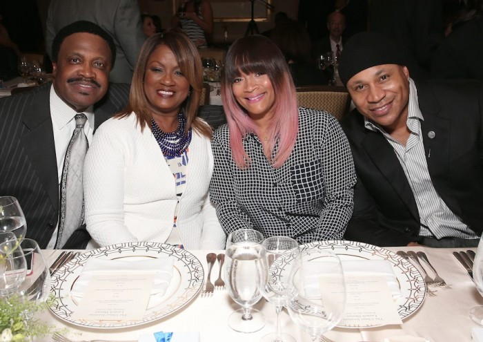 Dr. Kenneth Ulmer, Mrs. Togetta Ulmer, Mrs. Simone Smith and her husband, LL Cool J (Todd Williamson/Getty Images for The Ulmer Institute)