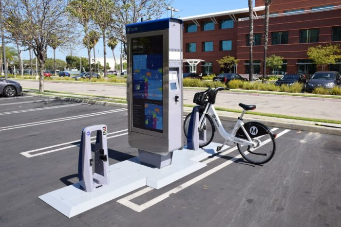 : When bike sharing comes to downtown Los Angeles July 7, making the system equitable for disadvantaged communities will be a priority with the help of a new $75,000 grant from the national Better Bike Share Partnership. (photo courtesy of lametthesource.com)
