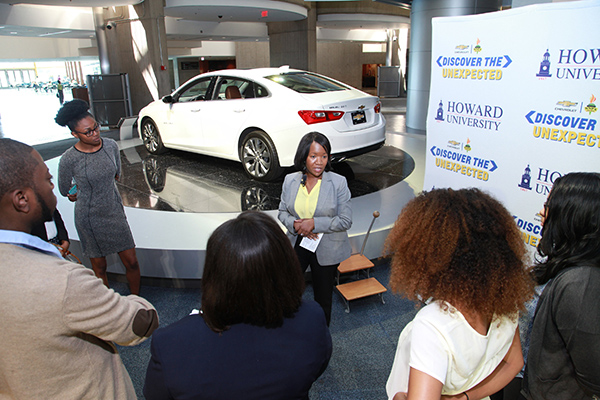 General Motors Diversity Marketing conducts Discover the Unexpected Chevrolet Immersion Wednesday, June 1, 2016 at the GM Global Headquarters in Detroit, Michigan. (Photo by Andrea Stinson-Oliver for Chevrolet).