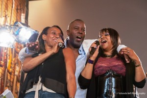 Kathy Sledge, Kashif and Deniece Williams treated attendees to a surprise performance at the 2014 festivities