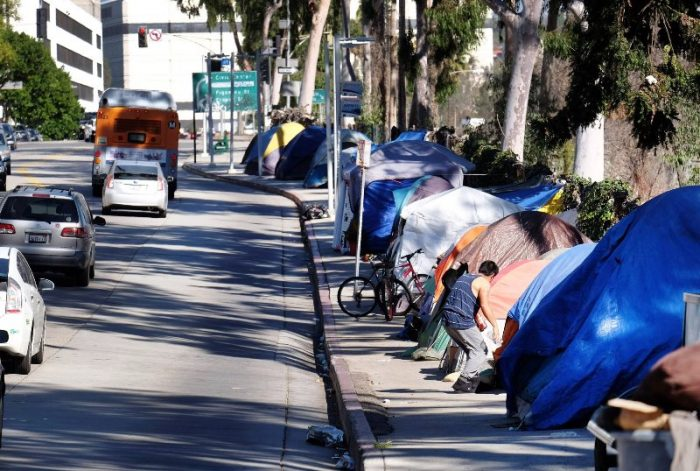 A three-person City Council committee advanced a proposal on June 17 to put a bond or parcel tax measure on the November ballot that would ask voters to pitch in financially to address the city's homelessness problem. (AP file photo)
