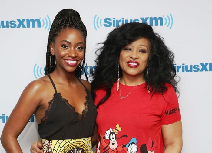 Teyonah Parris and Miki Howard