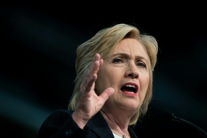 Presidential candidate Hillary Clinton (File photo)