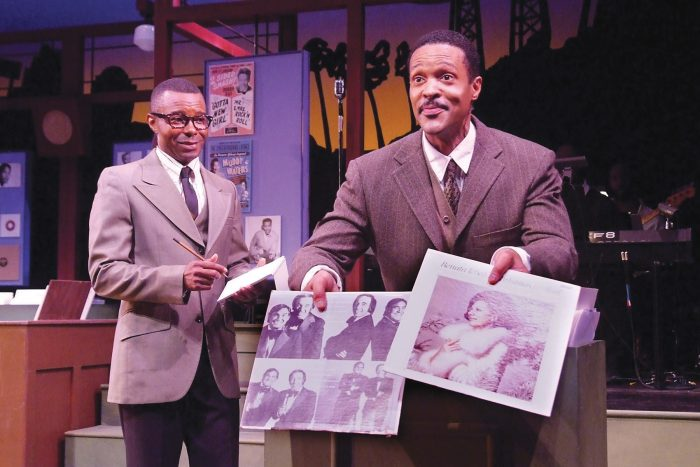 (rih_4nc) (L-to-R) Stu James as Leon Washington and Frank Lawson as John Dolphin. (Photo by Ed Krieger)
