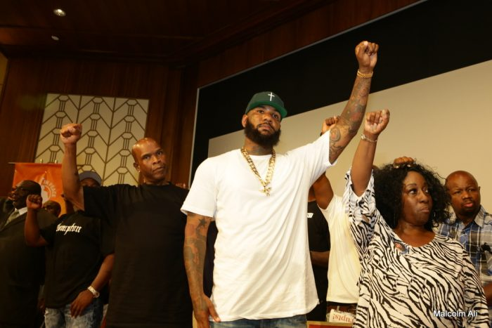From left-to-right: radio personality Big Boy and rapper The Game (courtesy photo)
