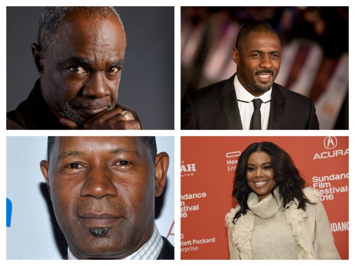 (top l to r) Glynn Turman, Idris Elba (Bottom l to r) Dennis Haysbert, Gabrielle Union (AP Photos)