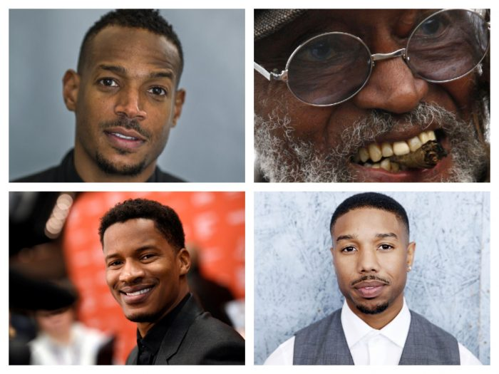 (Top l to r) Marlon Wayans , Melvin Van Peebles (Bottom l to r) Nate Parker, Michael B. Jordan