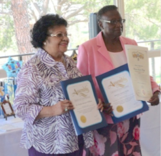 Dr. Evelyn Metoyer-Willams and Minister Sinetta Farley were honored.