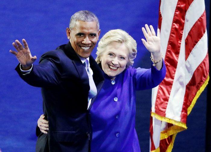 1- Main middle photo_Obama & Hillary2_Ap
