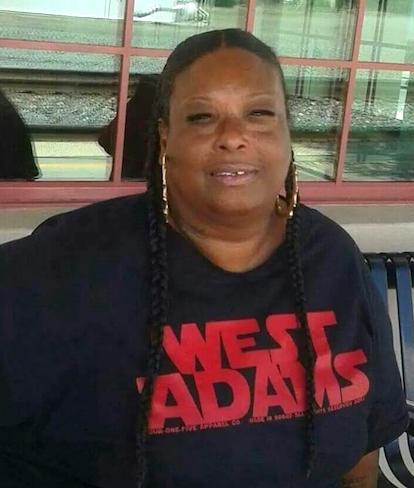 "Carolyn Hamilton (former gang member) Ceo/founder of ""Sista's Working Against Gang Violence"" last one"