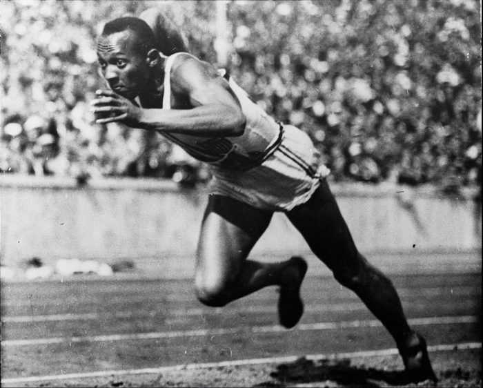 Jesse Owens, winner of four gold medals in the 1936 Olympics, wasn't the only man of color competing that Hitler despised. There were a total of 18. And the group won total of 8 gold, four silver and two bronze. Ralph Metcalfe who became a U.S. Congressman and Jackie Robinson's brother Mack Robinson won a silver medal in the 200 meters. The names of the 1936 black American Olympians are Dave Albritton, Jesse Owens, Cornelius Johnson, Mack Robinson, John Woodruff, and Ralph Metcalfe.(AP Photo/file)