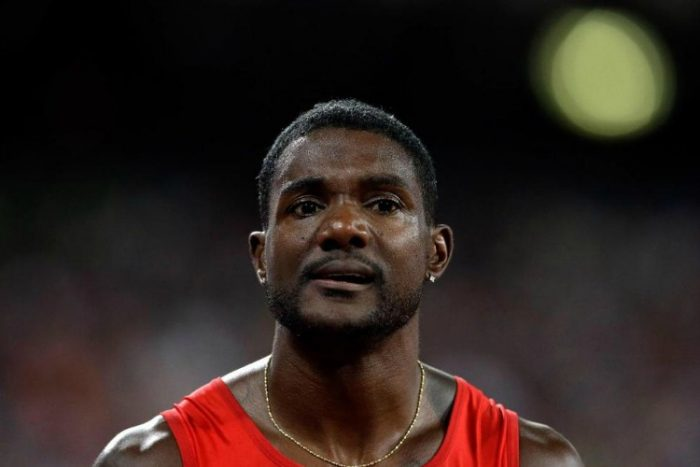Justin Gatlin (AP photo)