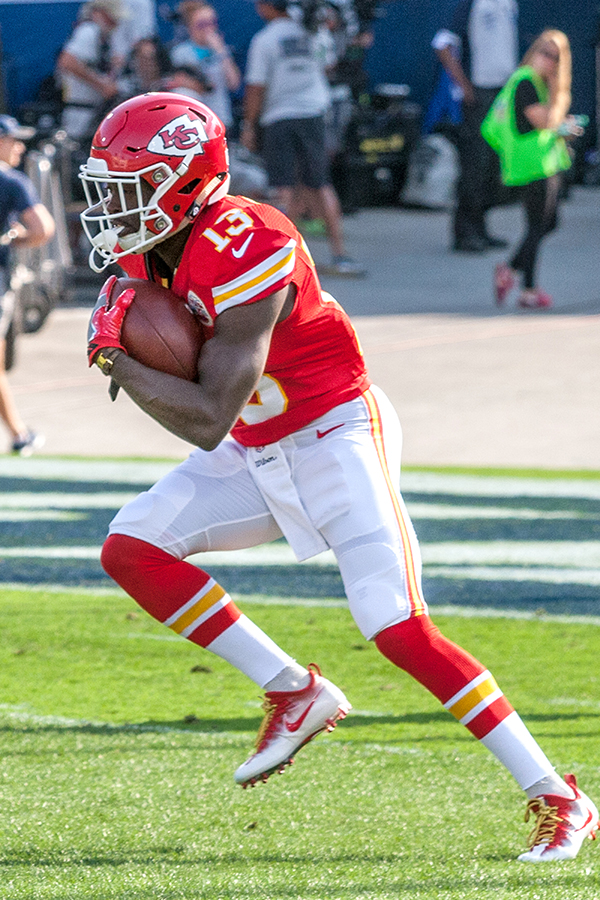 Wide Receiver De'Anthony Thomas was drafted by the Chiefs in 2014 (L.A. Sentinel/ Robert Torrence)
