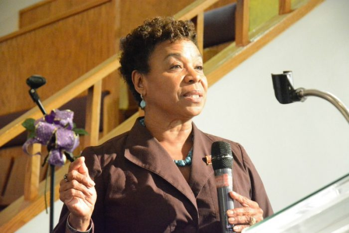 US Rep. Barbara Lee, 13th District of CA (photo by Xavier Higgs)