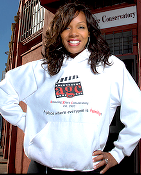 Actress and co-founder of Amazing Grace Conservatory, Wendy Raquel Robinson. Courtesy Photo