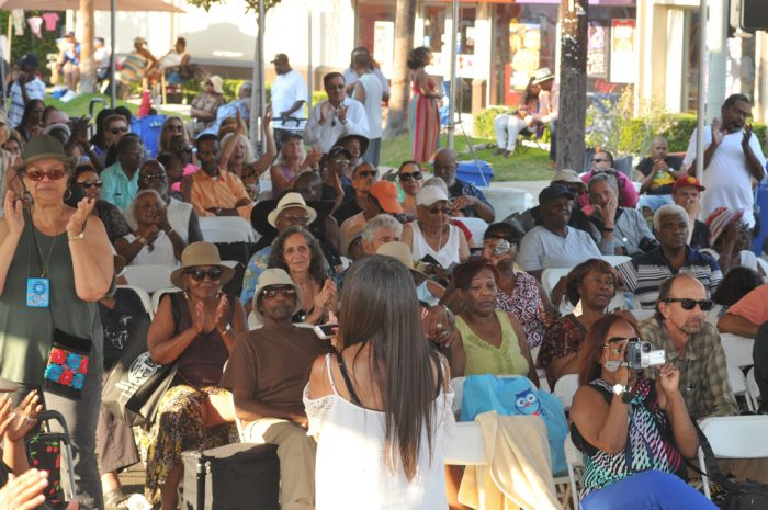Attendees at the 21st Annual Central Jazz Festival (Photo by Ian Foxx)