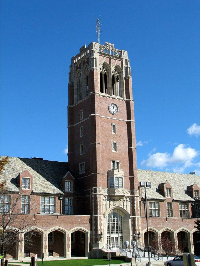 John Carroll University (Courtesy of Wikimedia commons)