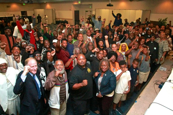United Hood Nation/10,000 fearless hosted a community town hall at Holman United Methodist Church September 15, 2016. (Photo by E. Mesiyah McGinnis)