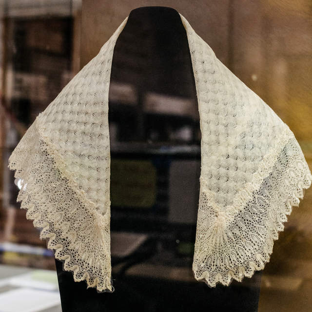 Harriet Tubman received this shawl as a gift from Queen Victoria for her dedication to freeing enslaved people in the United States. (Courtesy photo)