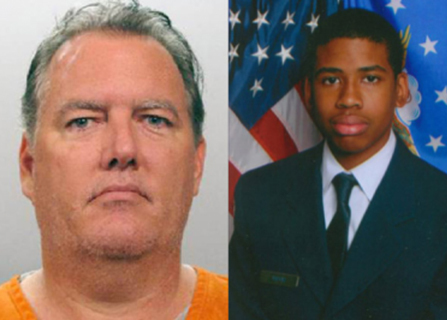 Michael Dunn (left) was convicted of murder and sentenced to life for the 2012 killing of 17-year-old Jordan Davis (right) (file photo)