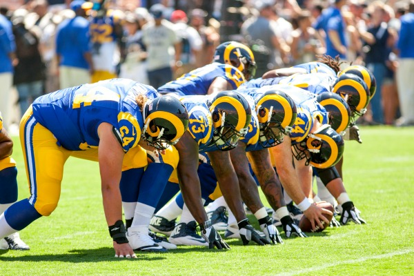 Field goal kicks gave the Rams their first in-season victory (Photo by Robert Torrence)