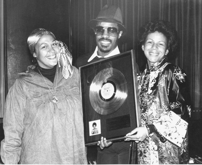 Regina Jones, Stevie Wonder and Minnie Riperton. (Courtesy Photo)