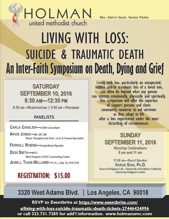 rel-Holman Suicide Prevention event