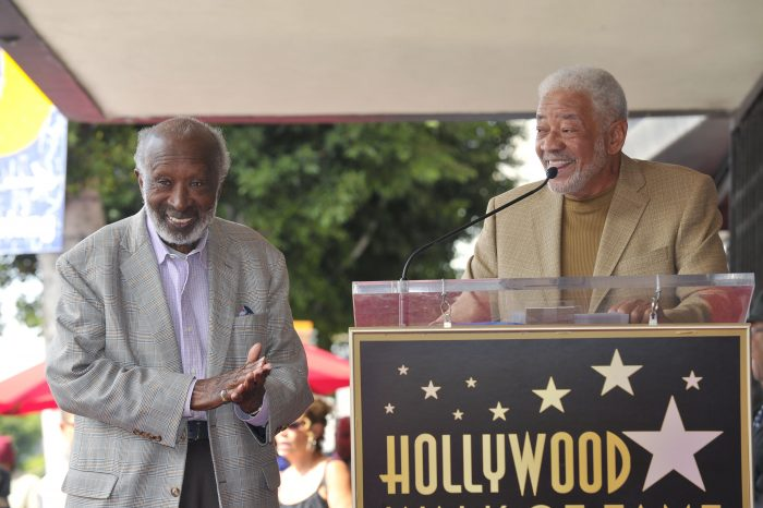 MUSIC MOGUL CLARENCE AVANT AND BILL WITHERS PHOTOS BY VALERIE GOODLOE